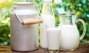 Лечение гастрита молоком